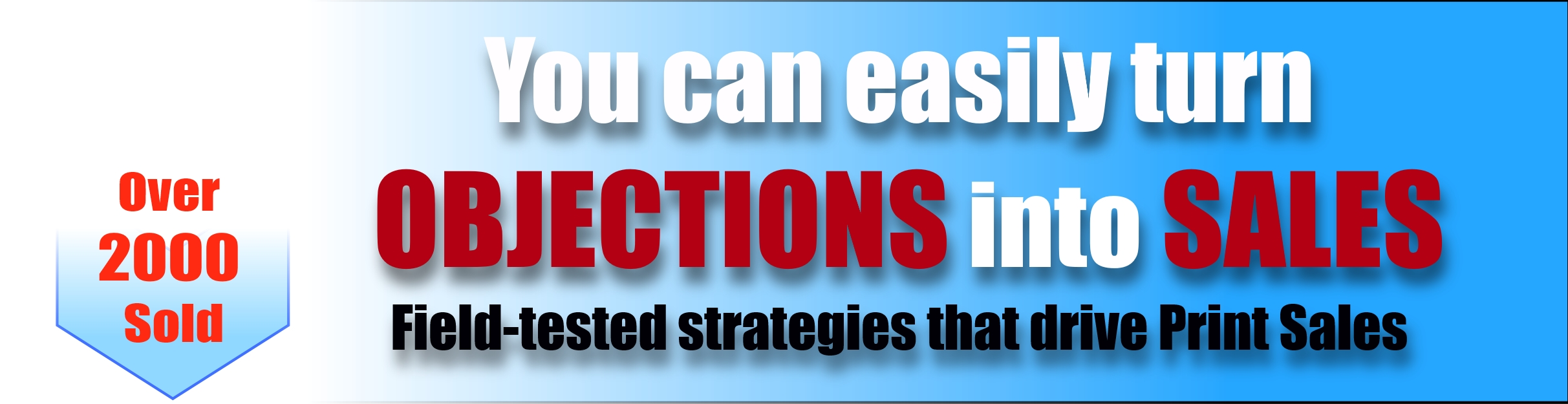 Turn objections into sales